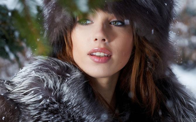 Как продлить ваш макияж зимой