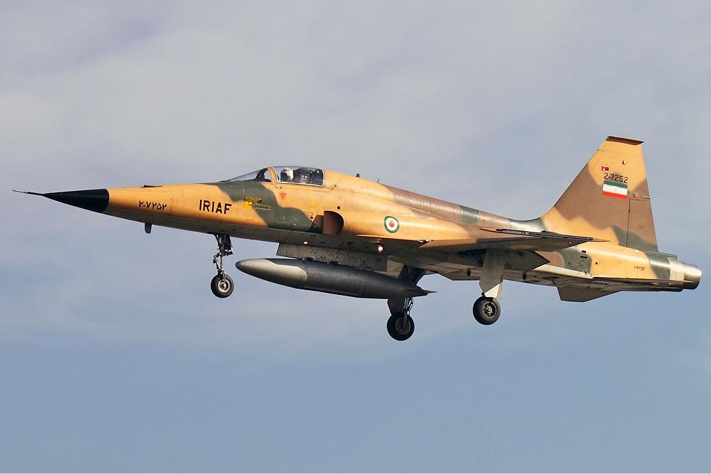 В войне между Ираном и Ираком противостояние F-5 и Миг-21 закончилось ничьей
