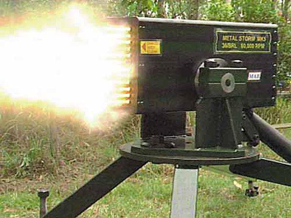 Металлический шторм: самое скорострельное оружие мира