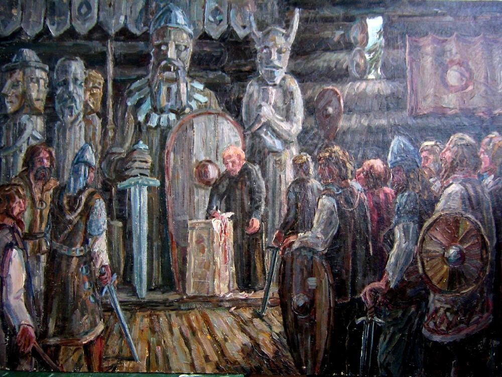 Оружие балтских племен II-VIII веков на территории Литвы