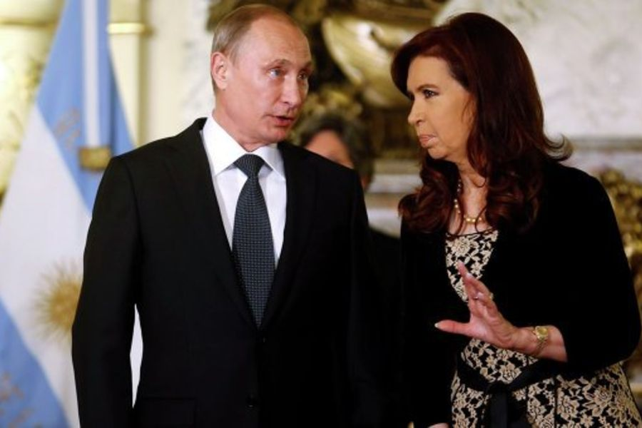 Путин: РФ и Аргентина обсудят вопрос об использовании нацвалют во взаимных расчетах