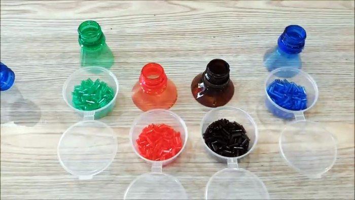 Как сделать бисер из пластиковых бутылок мастер-класс,поделки из пластиковых бутылок