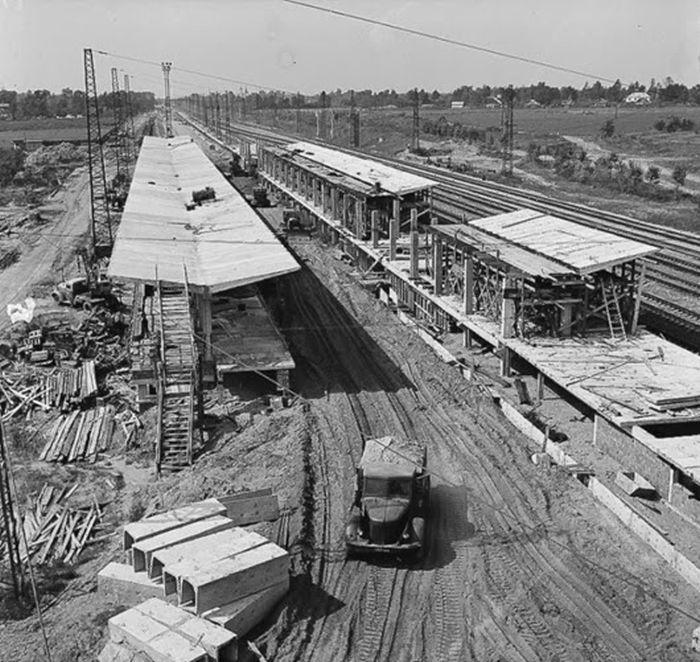 Станция Выхино строится.