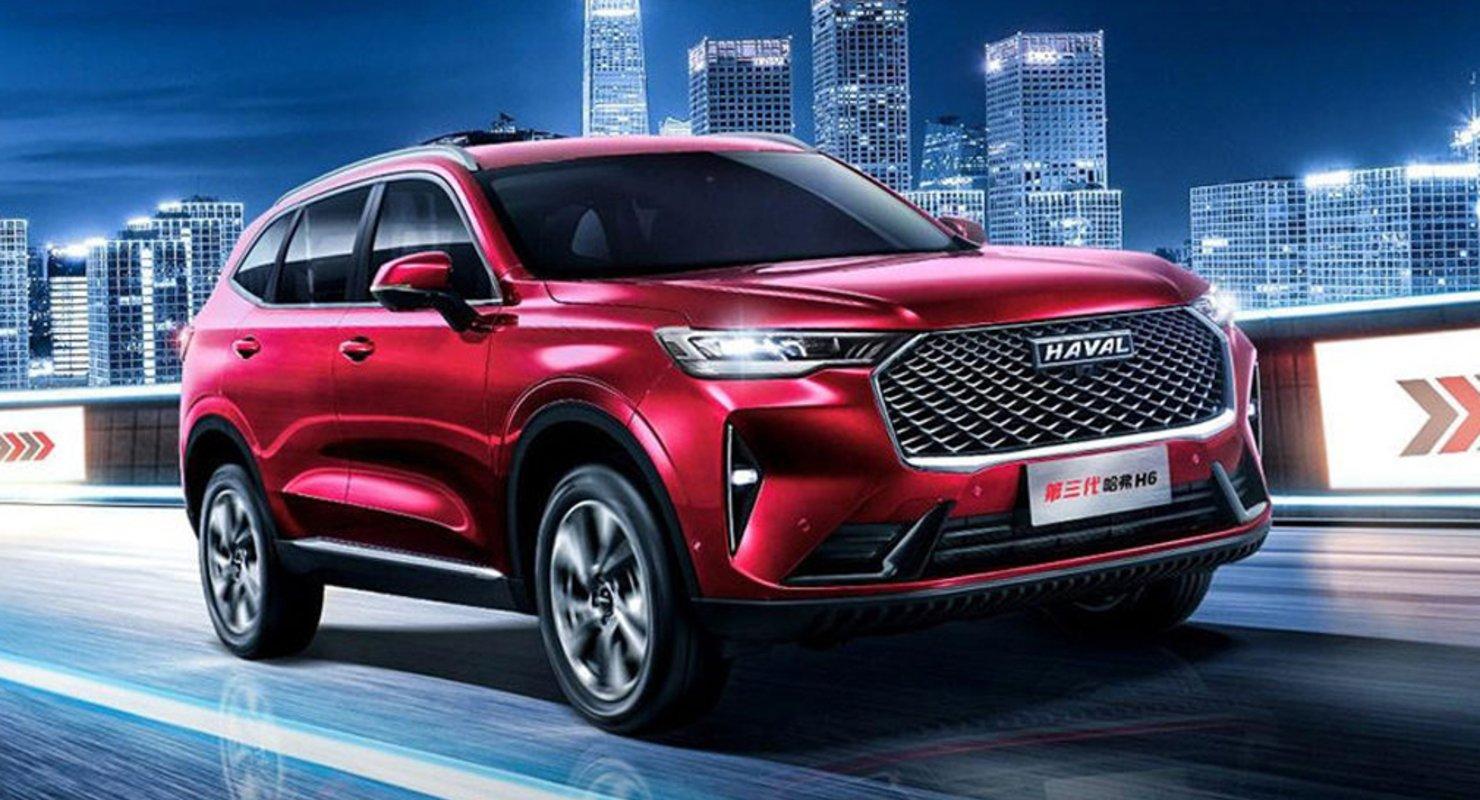 Кроссовер Haval H6 третьей генерации может появиться в продаже в России Автомобили