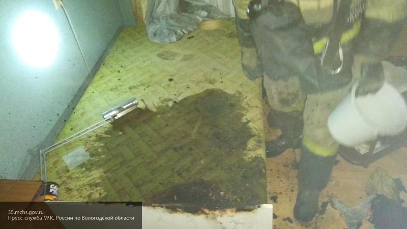 В Вологодской области женщина пыталась спалить собственную мать