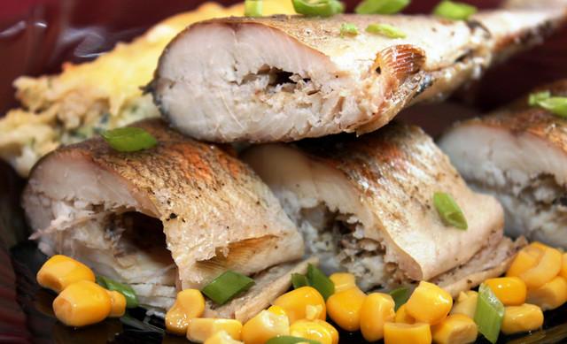 «Здоровая» рыба без соли, жира и воды за 15 мин