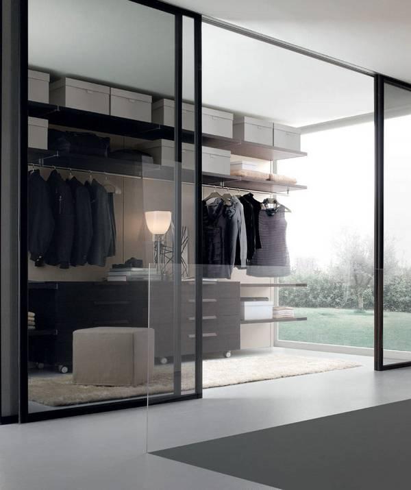 раздвижные двери купе для гардеробной, фото 3