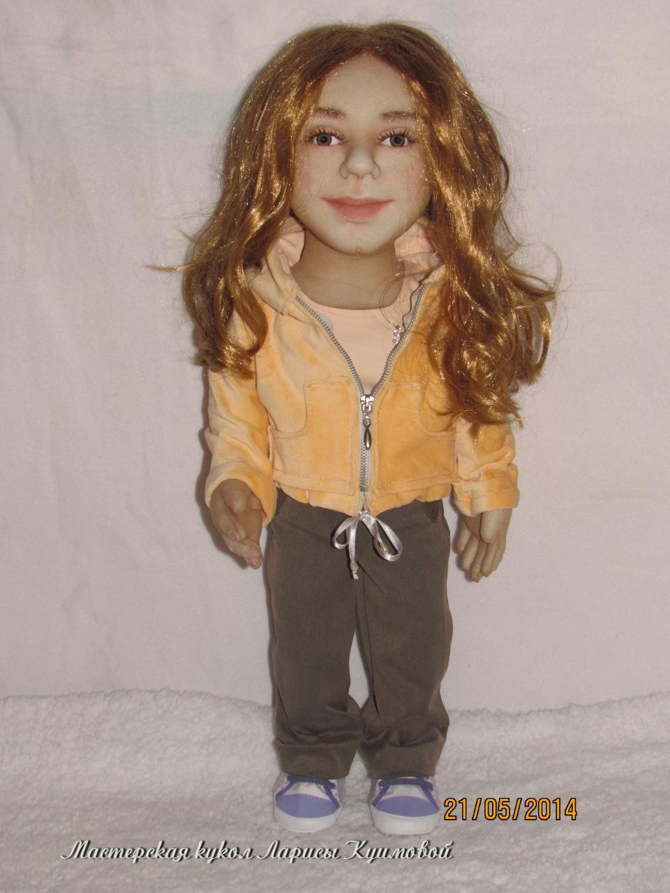 Машенька -портретная кукла