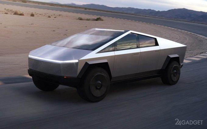 Илон Маск рассказал о будущем Tesla Cybertruck будущее,гаджеты,Илон Маск,наука,техника,технологии,электроника