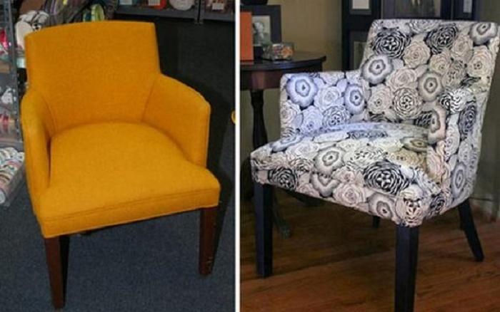 Миниатюрное, но удобное кресло.