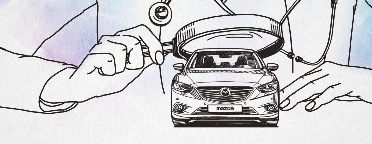 Кафедра детских болезней: Mazda 6