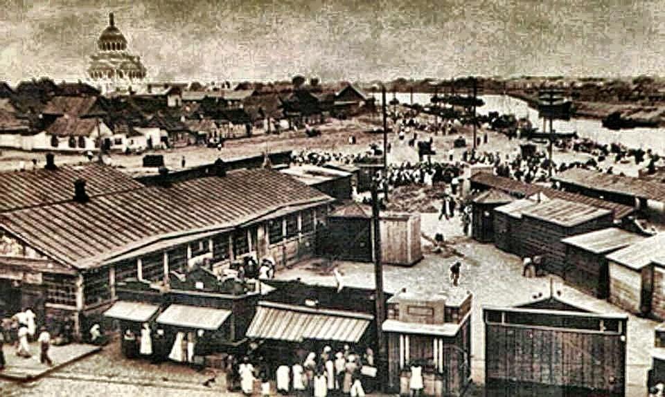 Знакомимся: второй по величине рынок Атсрахани - Татар Базар.