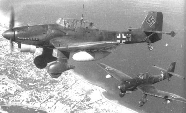 Сталинград - уничтожение города фашистской авиацией 23 августа 1942 г. Хроника событий