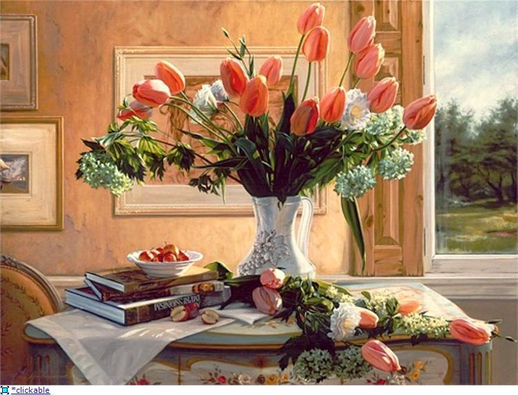 Тюльпаны - цветы особого настроения.