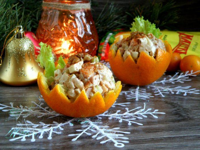 «Зимнее Солнышко» — лучший салат для Нового Года