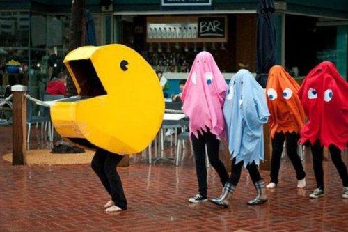 Прикольные самодельные костюмы на Хэллоуин для весёлой компании, которые не ударят по вашему бюджету