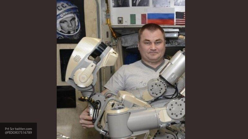 """Робот """"Федор"""" возвратится на Землю в """"Союзе"""" в ночь на субботу"""