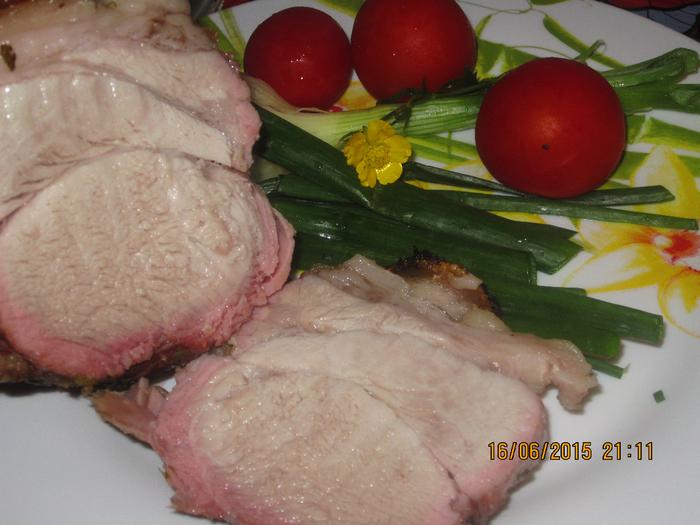Свинина в сене, или мясо на сеновале.
