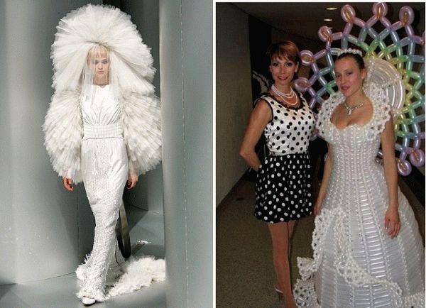Самые странные невесты в самых уродливых платьях