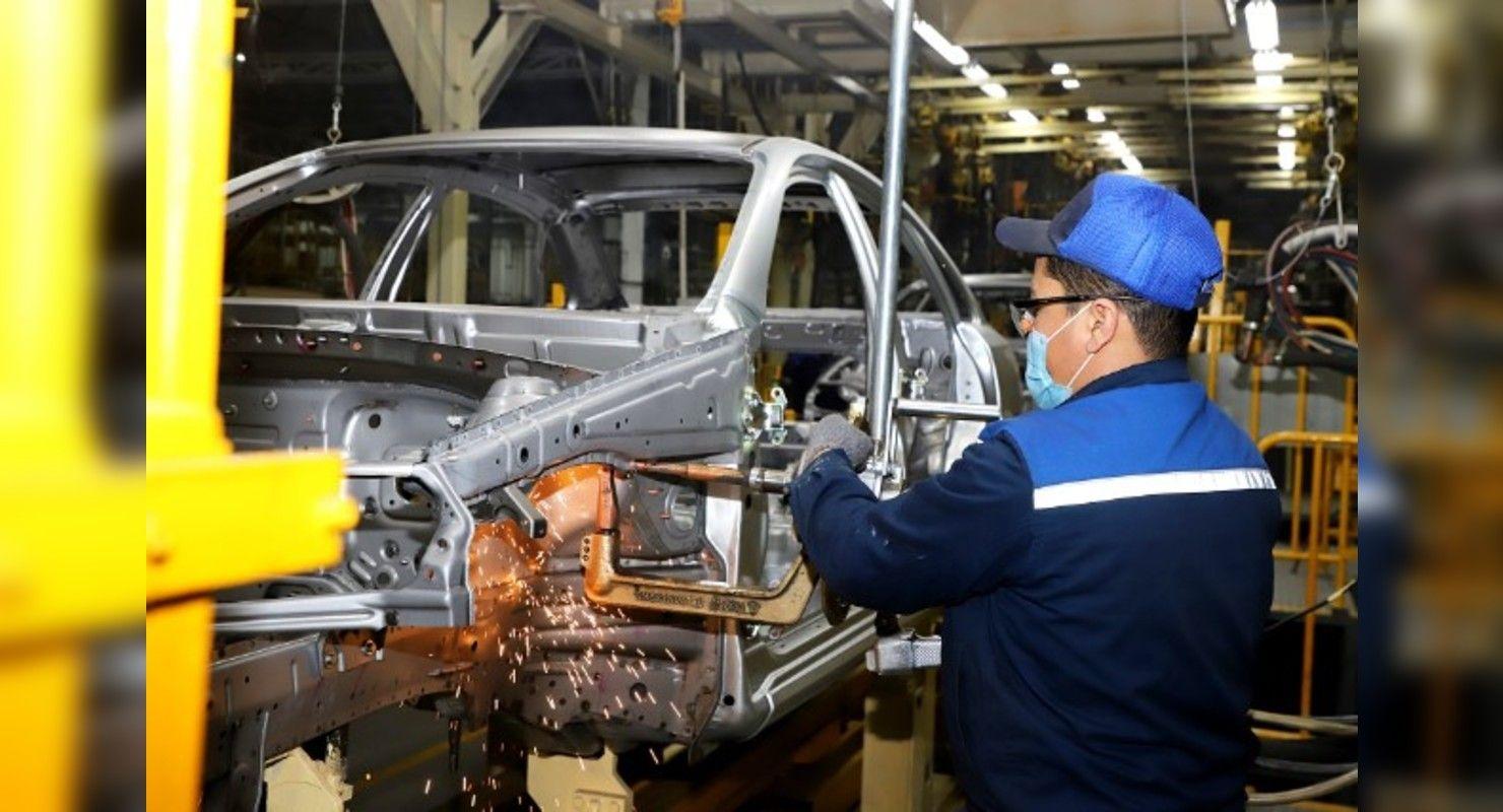Компания UzAuto Motors запустила новый сварочный цех в Асаке Автобизнес