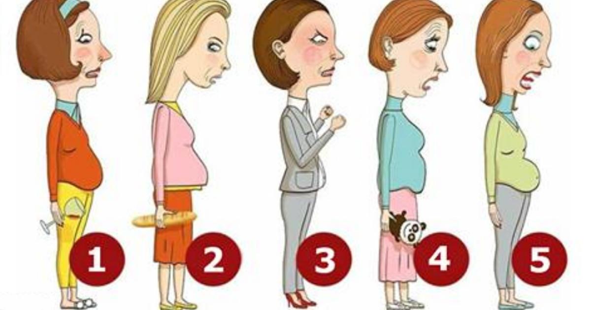 5 типов женских животиков.Как избавиться от каждого из них
