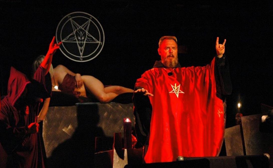 Как сатанизм распространяется по земле