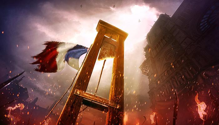 Гротескные мертвецы на «Балах жертв»: Как аристократы времен Французской революции эпатировали общество