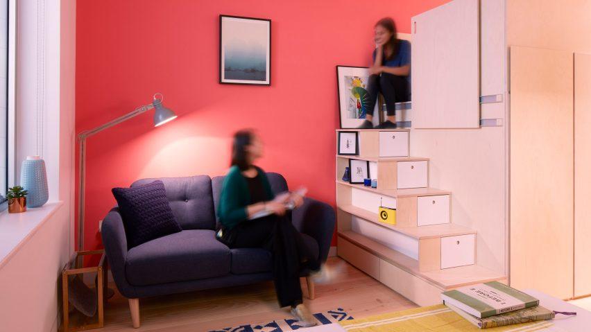Проект квартиры площадью 19 метров, в которой есть все необходимое