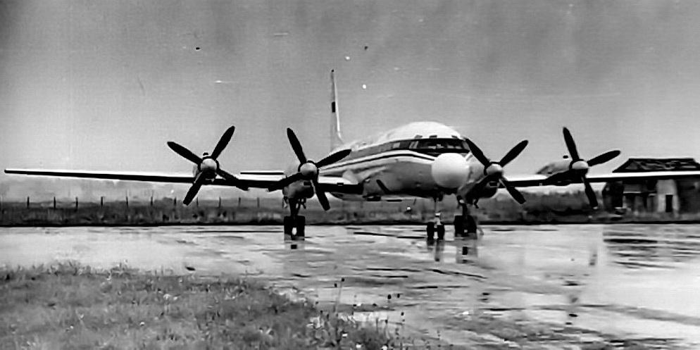 Ил-18В СССР-74296