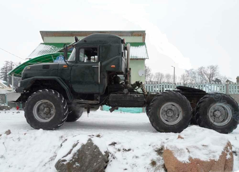 Владелец превратил свой ЗИЛ-131 в полноприводный дальнобойный тягач авто