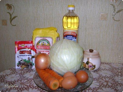Доброго времени суток,дорогие Мастера и Мастерицы:) Предлагаю вам приготовить необыкновенно лёгкое в исполнении и очень вкусное блюдо-капустные трубочки. фото 2