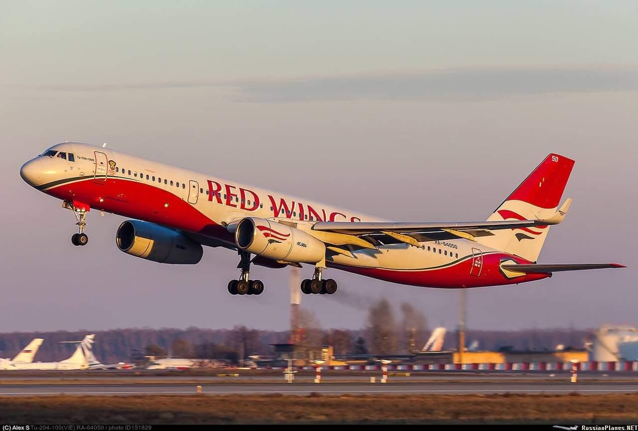 Red Wings выводит Ту-204. Ок…