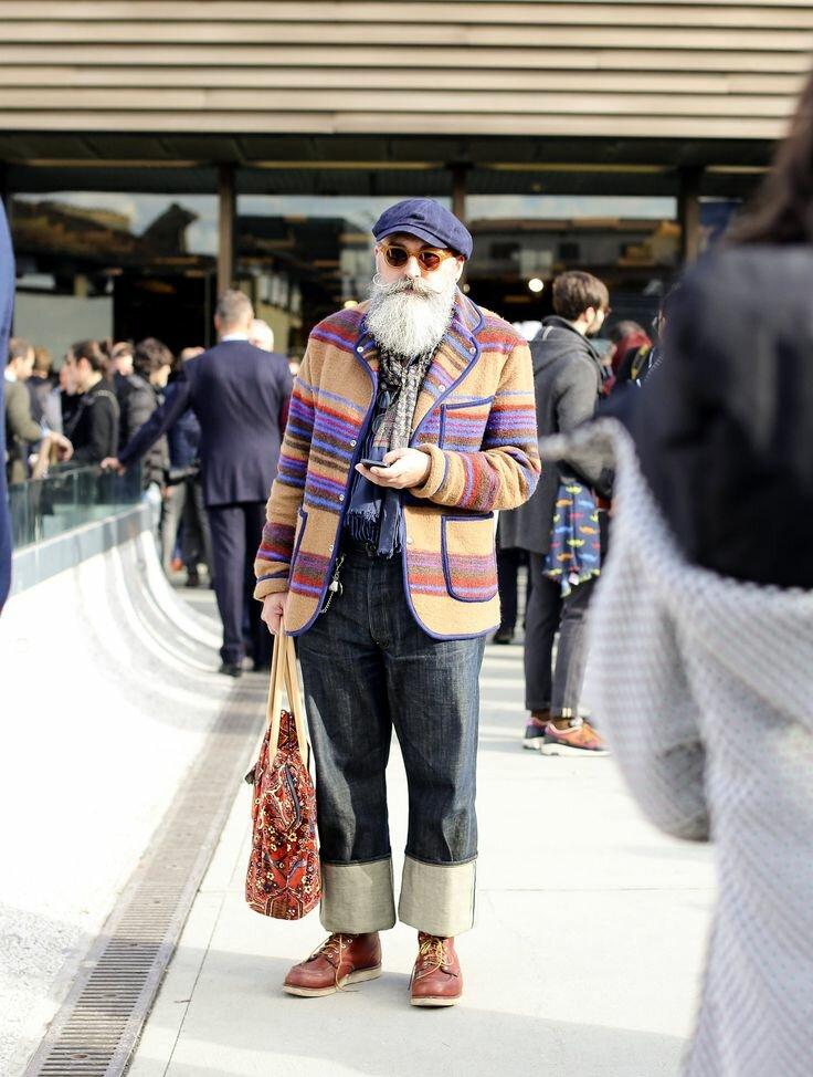 Моде зрелость не помеха! /Фото: i.pinimg.com