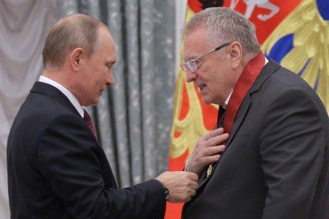 Путин и Жириновский больше всех кандидатов тратят на избирательную компанию