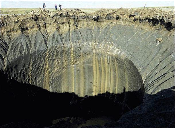 Таинственные гигантские кратеры в Сибири