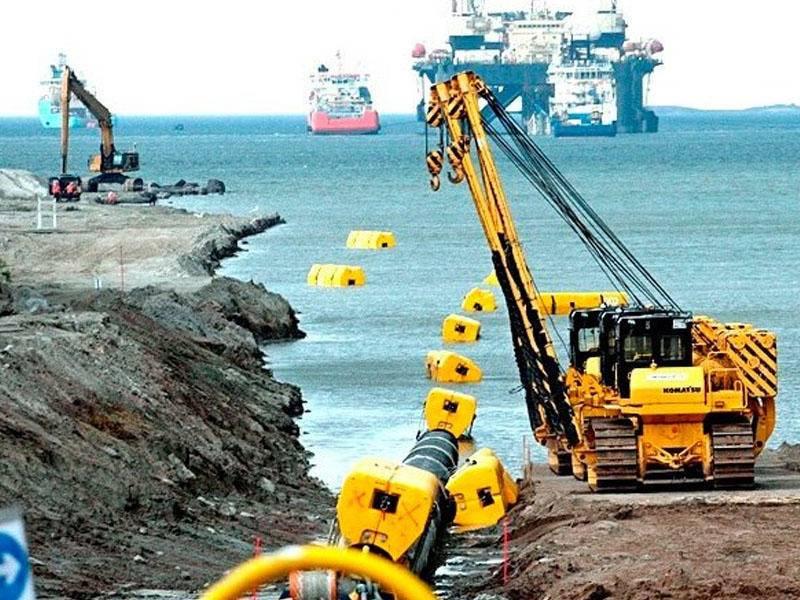 «Газпром» отчитался: «Северный поток-2» построен на треть