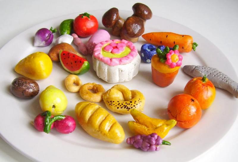 Еда везде: забавная подборка от рукодельниц, которую так и хочется съесть можно, получится, нужно, различных, легко, множество, кулинарных, создания, изделия, пластилин, только, материалом, служит, поделок, быстро, зависит, маленьких, бумага, вашей, интернете