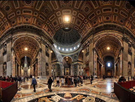 Собор Святого Петра (Ватикан) красиво. необычно, храм. мир