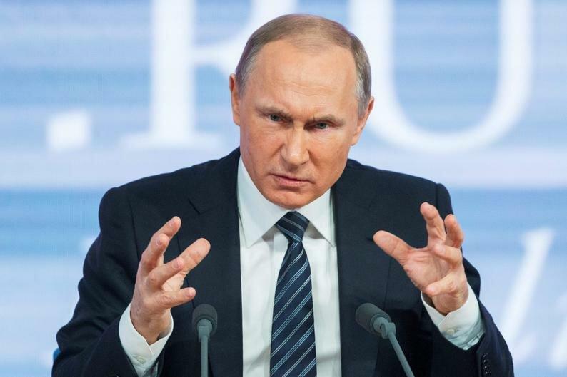 фото открытых источников. Путин рассердился...