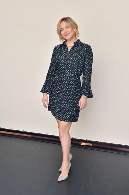 Кейт Хадсон впервые вышла в свет после рождения ребенка звездный стиль, кейт хадсон