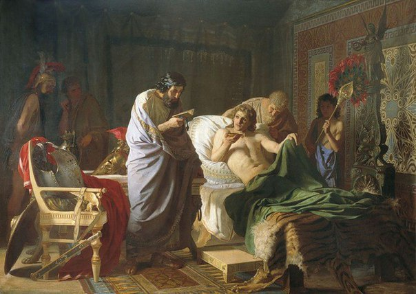 Македонская империя после см…