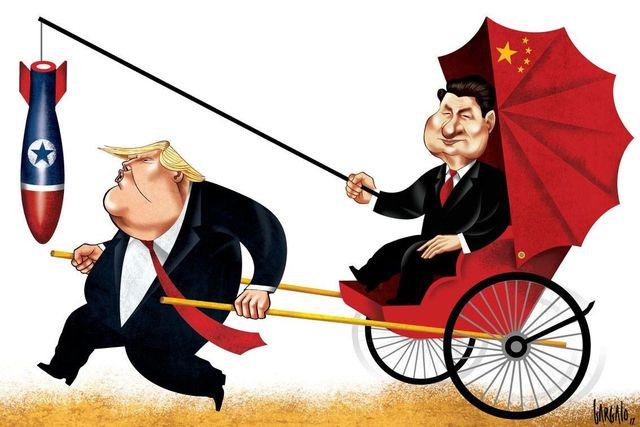 Как Трамп развивает российско-китайскую дружбу
