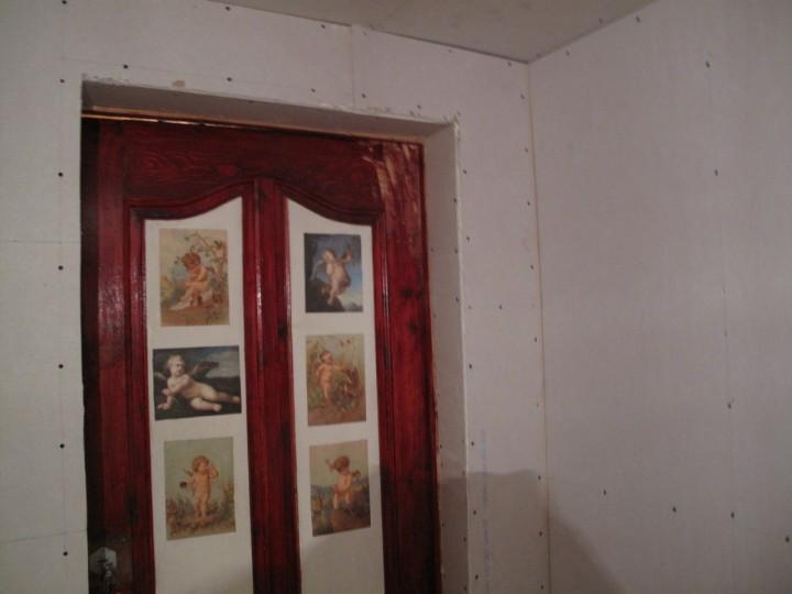 Ремонт домика в деревне.Продолжение...часть 2-я.