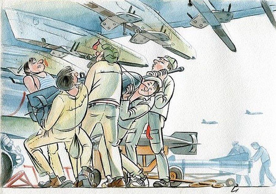 День авиации смешные картинки