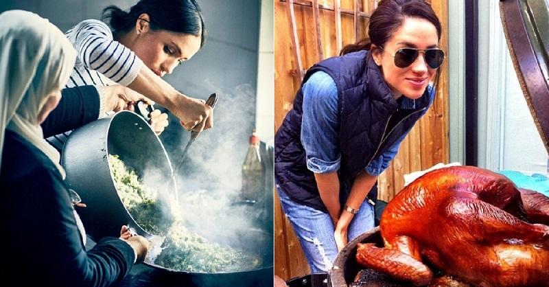 Как Меган Маркл готовит люби…