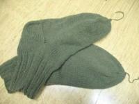 Носки для мужа (вязание спицами)