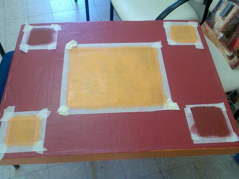 Столик из картона своими руками: на очереди тумбочка, кресло, полочки домашний очаг...