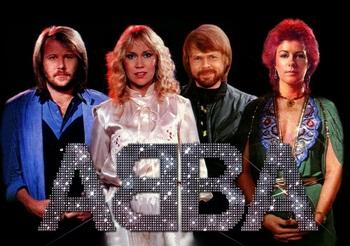 Опубликована первая фотография ABBA в студии после 35-летнего перерыва
