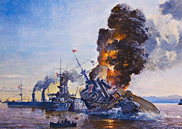 Ловушка для японцев: как разом подорвались броненосцы «Хацусэ» и «Ясима»