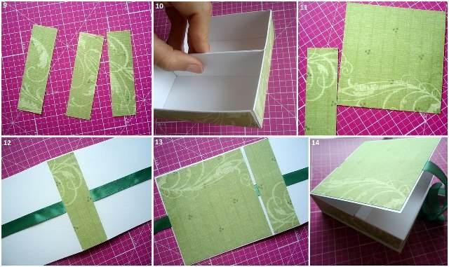 Шкатулку из бумаги своими руками